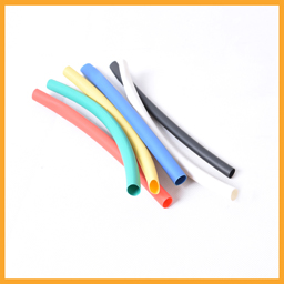 Heat shrinkable insulation tube with hot melt adhesive