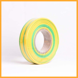 yellow-green stripe heat shrinkable tube