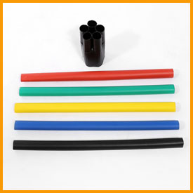 Low Voltage 5-core Heat Shrinkable Termination Kits