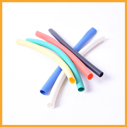 Adhesive heat insulation protection shrinkable tubing